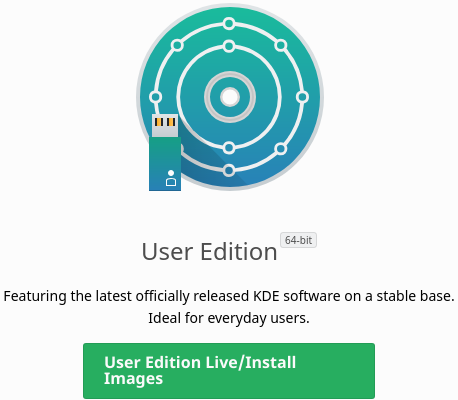 User Edition Live/Install Images